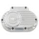 Polished Cable Clutch Transmission Side Cover - 10-400
