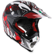 White/Red AX-8 EVO Helmet