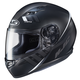 Semi-Flat Black/White CS-R3 Space MC-5SF Helmet