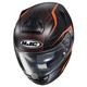 Semi-Flat Black/Orange RPHA-ST Dabin MC-7SF Helmet