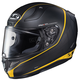 Semi-Flat Black/Yellow RPHA-11 Pro Riberte MC-3SF Helmet