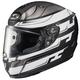 Semi-Flat White/Black/Silver RPHA-11 Pro Skyrym MC-5SF Helmet