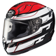 White/Black/Red RPHA-11 Pro Skyrym MC-1 Helmet