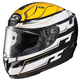 White/Black/Yellow RPHA-11 Pro Skyrym MC-3 Helmet