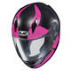 Youth Semi-Flat Black/Pink/Gray CL-Y Boost MC-8SF Helmet