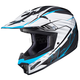 White/Black/Blue CL-XY II Youth Blaze MC-2 Helmet