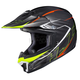 Black/Neon Green CL-XY II Youth Blaze MC-5 Helmet