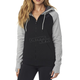 Women's Black Permafrost Polar Fleece Zip Hoody