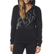 Women's Black Attent Zip Hoody