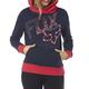 Women's Indigo Shaded Pullover Hoody