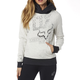 Women's Light Heather Gray Shaded Pullover Hoody