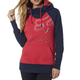 Women's Bright Rose Aired Pullover Hoody