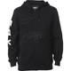 Black Unfocused Zip Hoody