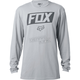 Silver Foiled Long Sleeve Shirt
