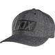 Charcoal Heather Bron FlexFit Hat