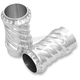 Polished Spiral Fork Boots - 12-001
