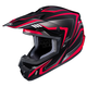 Black/Red/Gray CS-MX II Edge MC-1 Helmet