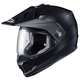 Semi-Flat Matte Black DS-X1 Helmet