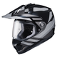Gray/Black DS-X1 Lander MC-5 Helmet