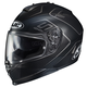Semi-Flat Black/Gray IS-17 Lank MC-5SF Helmet