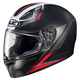 Semi-Flat Black/Red FG-17 Valve MC-1SF Helmet