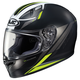 Semi-Flat Black/Neon Green FG-17 Valve MC-3HSF Helmet