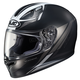 Semi-Flat Black/White FG-17 Valve MC-5SF Helmet