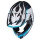 White/Turquoise CL-X7 Blaze MC-2 Helmet