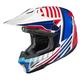 Red/White/Blue CL-X7 Hero MC-21 Helmet