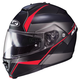 Semi-Flat Black/Red IS-Max2 Mine MC-1SF Helmet