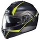 Semi-Flat Black/Neon Green IS-Max2 Mine MC-3HSF Helmet