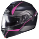 Semi-Flat Black/Pink IS-Max2 Mine MC-8SF Helmet