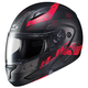 Semi-Flat Black/Red CL-MAXBT 2 Friction MC-1SF Helmet
