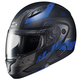 Semi-Flat Black/Blue CL-MAXBT 2 Friction MC-2SF Helmet