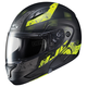 Semi-Flat Black/Neon Green CL-MAXBT 2 Friction MC-3HSF Helmet