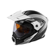 Flat White/Black EXO-CX950 Apex Snow Helmet