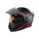 Flat Red/Black EXO-CX950 Apex Snow Helmet