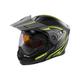 Flat Hi-Vis/Black EXO-CX950 Apex Snow Helmet