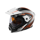 Flat White/Orange EXO-CX950 Apex Snow Helmet