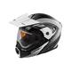 Flat White/Black EXO-CX950 Apex Snow Helmet w/Electric Shield