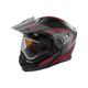 Flat Red/Black EXO-CX950 Apex Snow Helmet w/Electric Shield