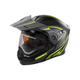 Flat Hi-Vis/Black EXO-CX950 Apex Snow Helmet w/Electric Shield