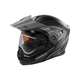 Flat Black/Gray EXO-CX950 Apex Snow Helmet w/Electric Shield