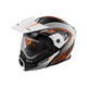Flat White/Flo Orange EXO-CX950 Apex Snow Helmet w/Electric Shield