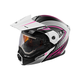 Flat White/Pink EXO-CX950 Apex Snow Helmet w/Electric Shield