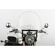 20 in. Clear SS-32 Falcon Windshield w/Black Quick Release Hardware - SS-32-20CWQB