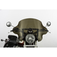 13 in. Dark Smoke SS-34 Phantom Windshield w/Black Quick Release Hardware - SS-34-DSFQB