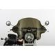 13 in. Dark Smoke SS-34 Phantom Windshield w/Black Quick Release Hardware - SS-34-DSWQB