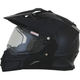 Gloss Black FX-39 DS/SE Snow Helmet