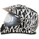 Silver FX-39SE Dazzle Helmet
